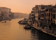 Grand Canal from Rialto Venice