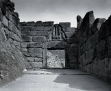 Mycenae. Lion Gate entrance