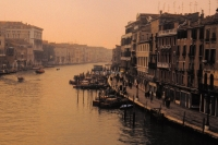 Grand Canal from Rialto Venice