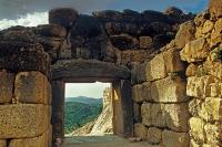 Mycenae. Lion Gate from inside