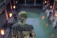 Roman baths. Looking Down