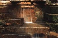 Roman Baths Water Step