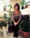 Germaine Greer in her bathroom, for some peculiar reason!