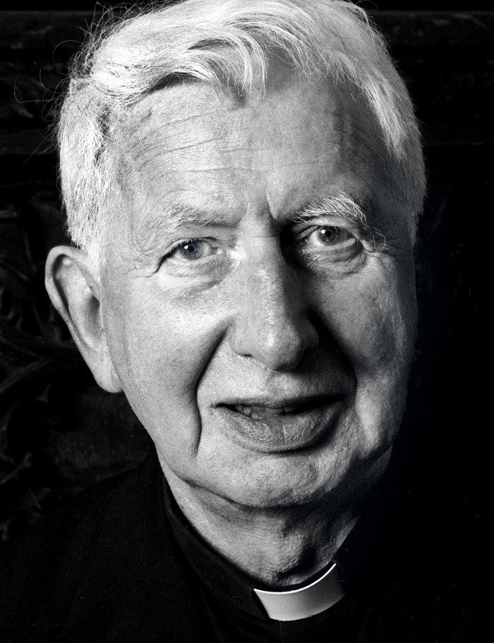 Cardinal Basil Hume - Portrait Photographer