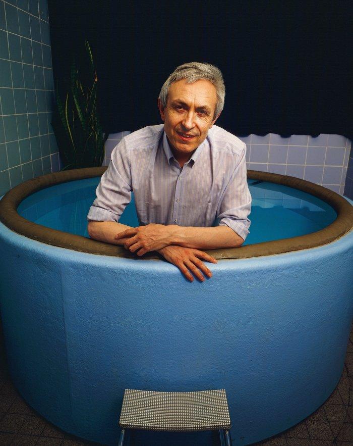 Dr Michel Odent - Portrait Photographer